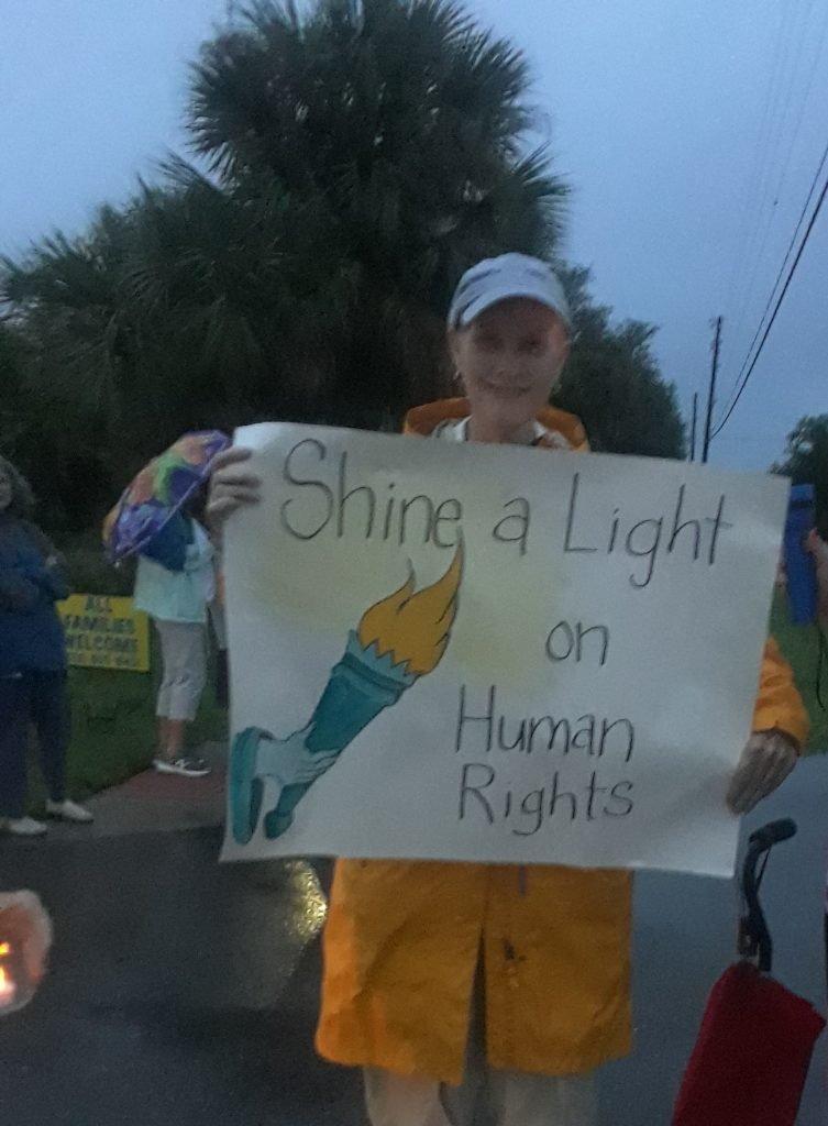 LIghts for Liberty Rally